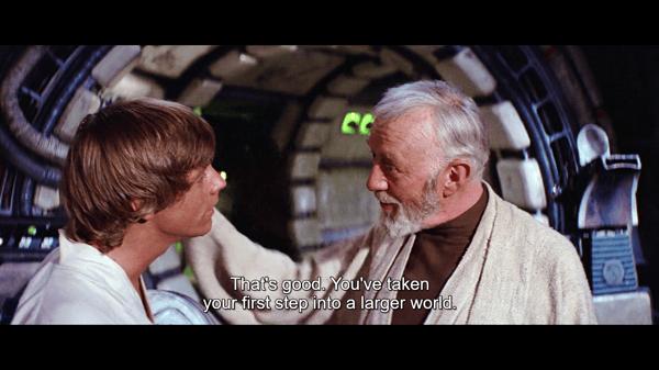 Star Wars dialog